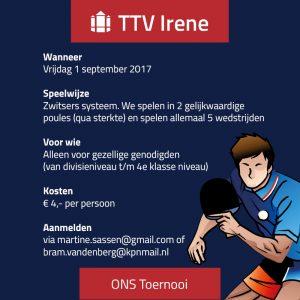 Irene - Ons Toernooi 2017